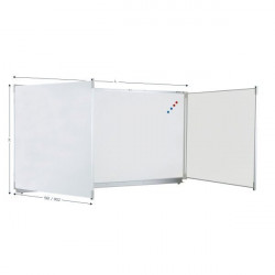 """42"""" x 79"""" Folding Whiteboard, Standing, More Sizes Available   TRIPTYQUE"""