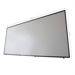 """76"""" x 48"""" Interactive Whiteboard, Magnetic   E-ACTIVBOARD"""