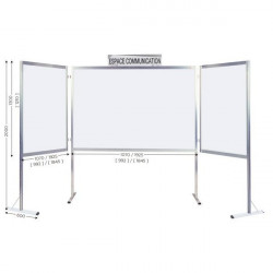 Large Connecting Whiteboards, Customizable Sizes Available | MOD'INFO