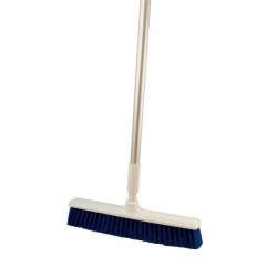 Polyester broom with aluminium handle L 400 mm