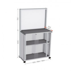 Quality Control and Communication Table, Optional Sizes | QUALIPOST 600D