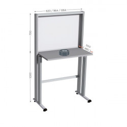 Quality Control and Communication Table, Various Sizes | QUALIPOST 600