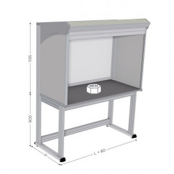 Quality Control Table, Stainless Steel, Various Sizes | QUALIPOST 4000