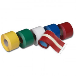 Roll of industrial tape for marking