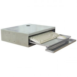 Stainless steel keyboard drawer for stainless steel INFOPOST