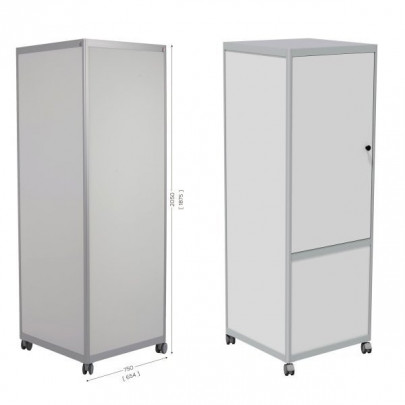 4-Sided Magnetic Whiteboard, Optional Storage Space | CUB'INFO