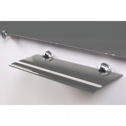 Glass tray grey for pens