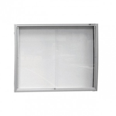 High quality wall-mounted display case   MOD'INFO WALL-MOUNTED DISPLAY CASE