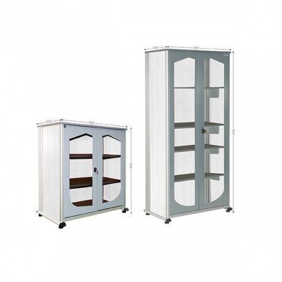Office storage cabinet | VISUAL CABINET 5S OFFICE