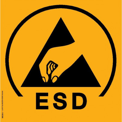 Pictograms ESD protected area