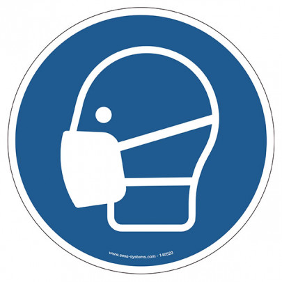 Pictograms Face mask M016
