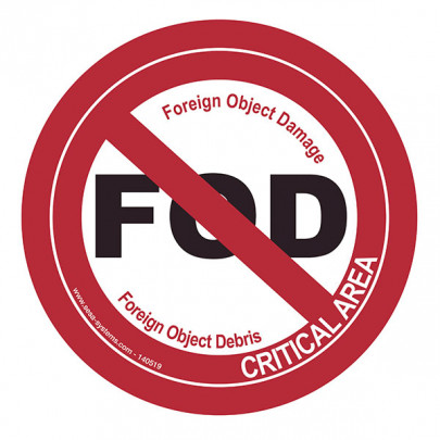 Pictograms FOD - Foreign Object Damage