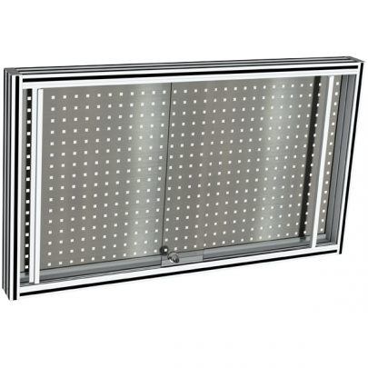 Stainless steel Perforated tool holder panel | MAINTPOST 250B
