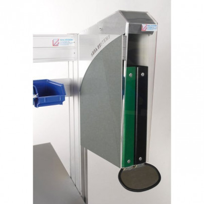 Stainless steel protection box for binders   DOCAPOST 250 STAINLESS STEEL