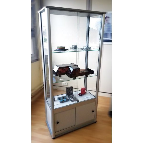 Glass display case   DISPLAY CASE A