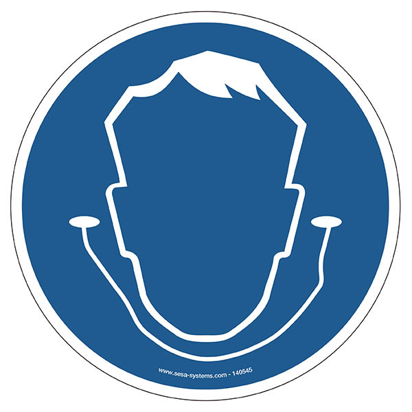 Pictograms Ear protection