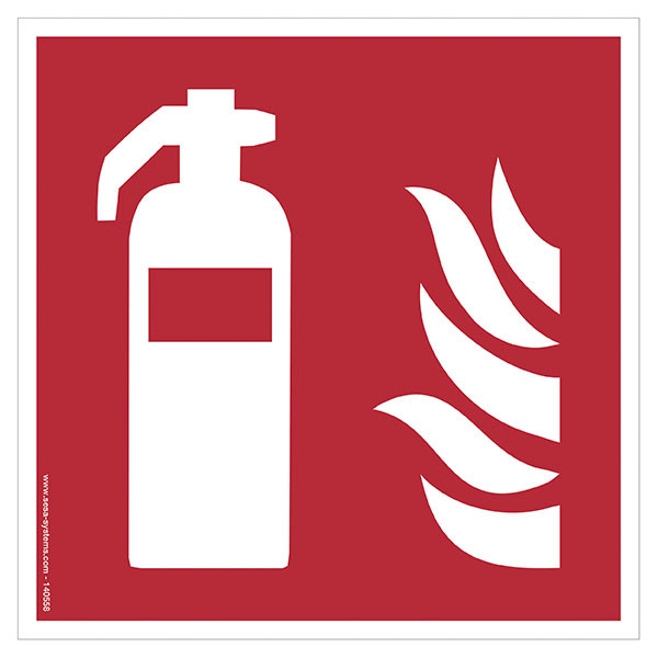 Pictograms Fire extinguisher F001