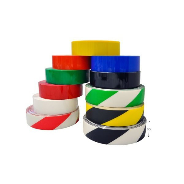 Roll of industrial marking tape