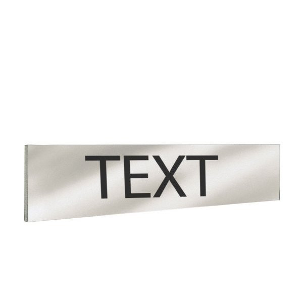 Text on the back of the headband