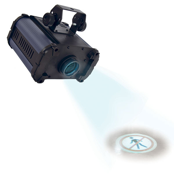 White LED pictogram light projector | Illuminated projector
