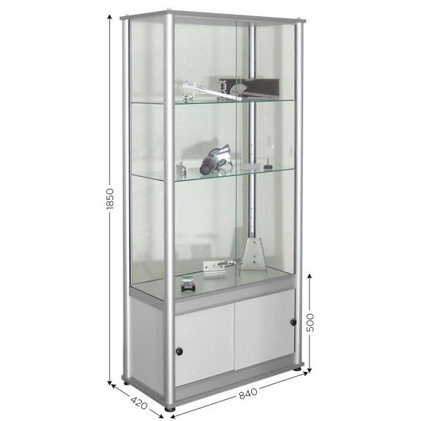 Glass display case | DISPLAY CASE A