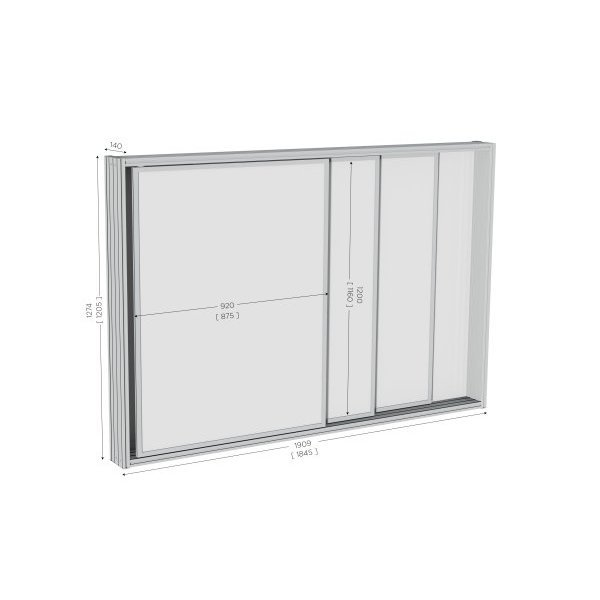 High quality sliding whiteboard | MOD'INFO SLIDING