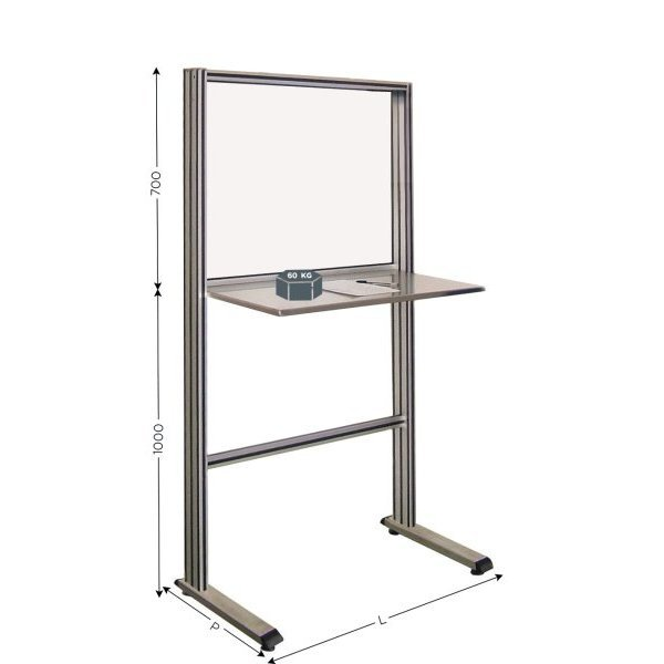 Stainless steel quality control station | QUALIPOST 650B STAINLESS STEEL