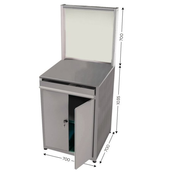Stainless steel quality control station | QUALIPOST 750 STAINLESS STEEL