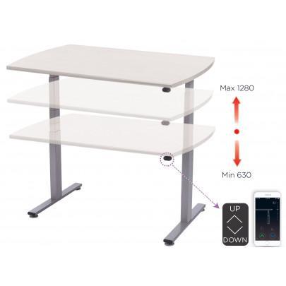 Electrically adjustable ergonomic desk   LEANERGO ELECTRIC