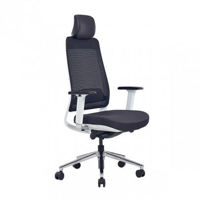 Office chair with 5-position lockable synchronous mechanism