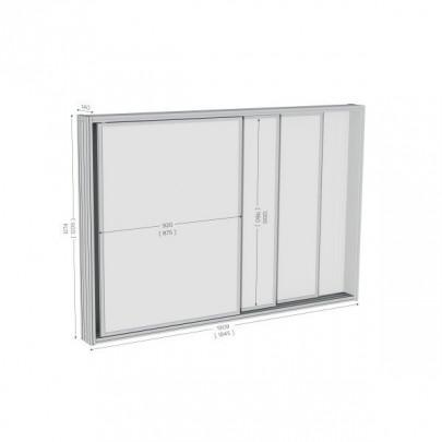 High quality wall-mounted display case   MOD'INFO