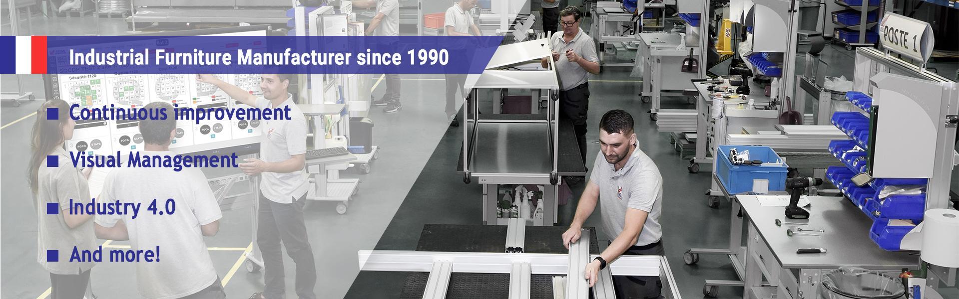 Industrial Furniture Manufacturer since 1990